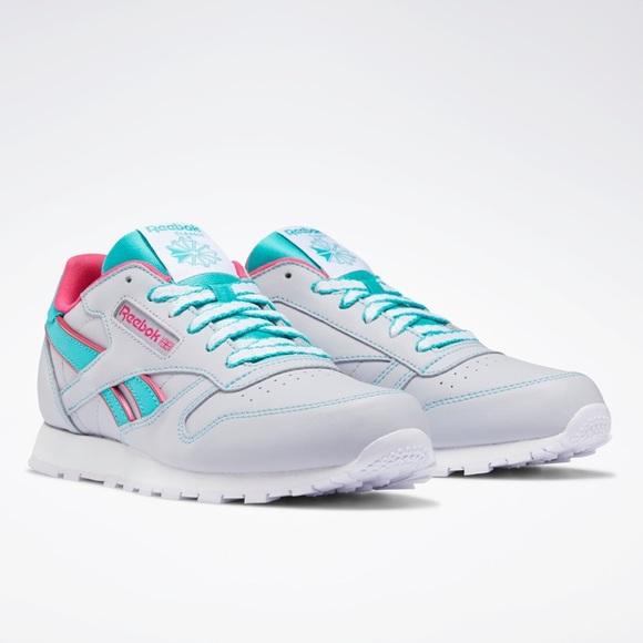 Reebok Classics Sneaker Pink Grey Teal